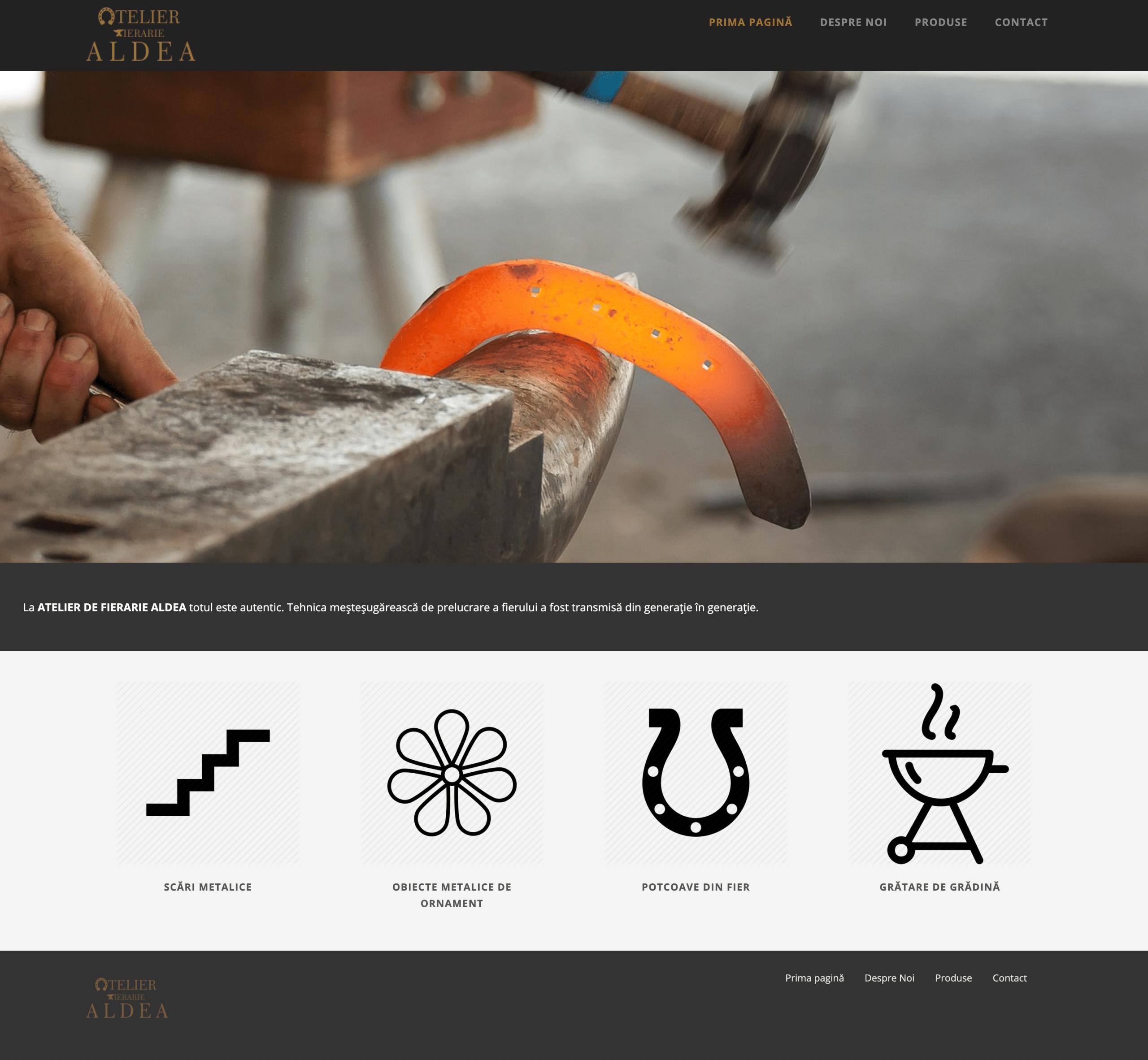 Atelier Fierarie Aldea